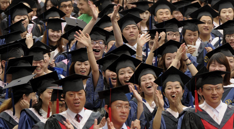 chineseuniversitygraduationstudentscapsgowns